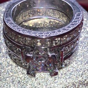 NEW! 925 CZ (3) Ring Set